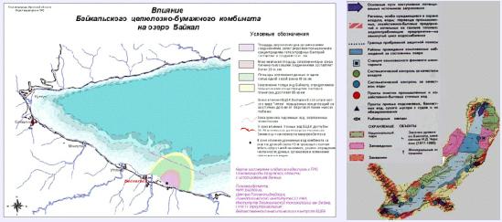 """Карта-схема """"Районы"""
